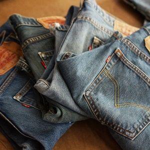 4 pairs of Levi's 501x2/505/508